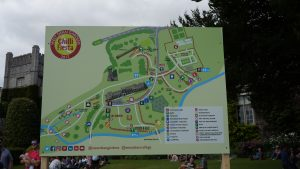 map of the fiesta