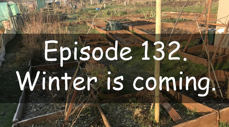 Episode 132 from the veg grower podcast titled winter is coming.