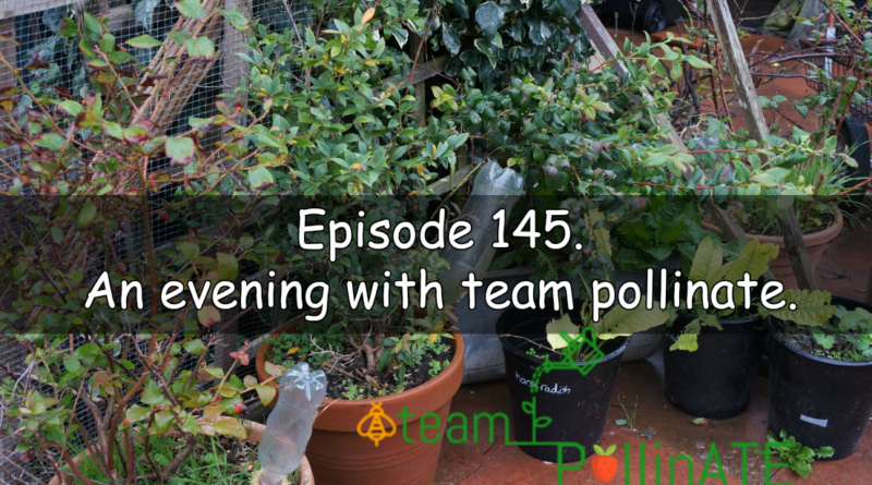 Episode 145 of the veg grower podcast titled an evening with team pollinate