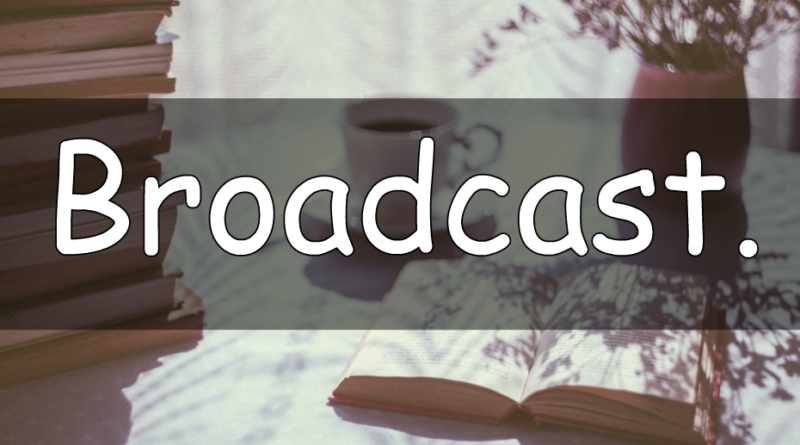 It's Wednesday which means its word of the week time. This weeks word is Broadcast. So let's take a look at what my understanding of broadcast means in horticulture terminology.