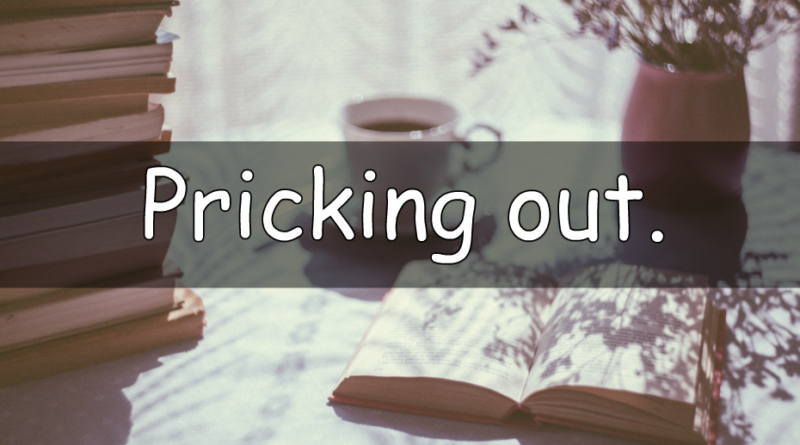 It's Wednesday which means its time to look at my word of the week. A weekly look at my understanding of a horticultural term. This week I am looking at pricking out.