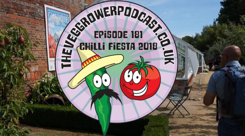 Join me in this week's podcast where I take you on my visit to chilli fiesta at west dean gardens. I also share the latest updates on my allotment and vegetable patch.