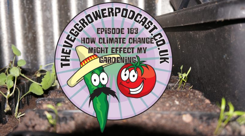 Join me as I discuss how climate change might affect my gardening. I also discuss the latest on the plots.