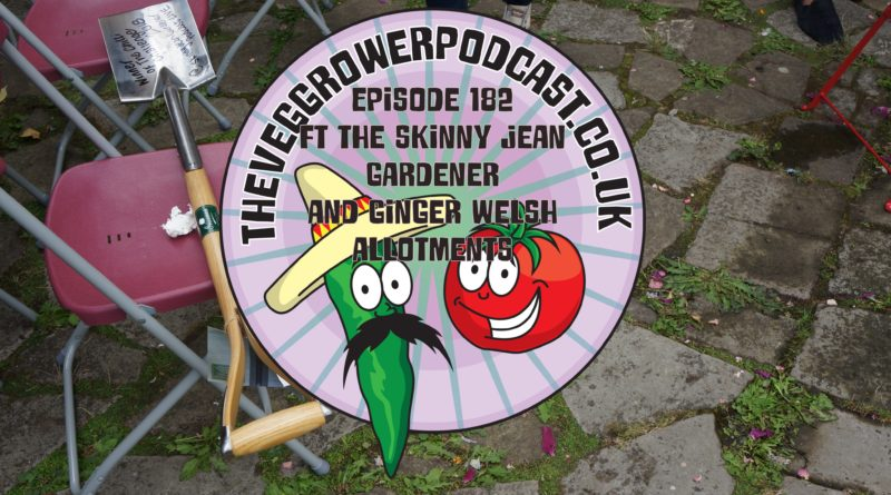 Join me in this week's podcast where I chat to lee the skinny jean gardener and Bethan from ginger welsh allotments.