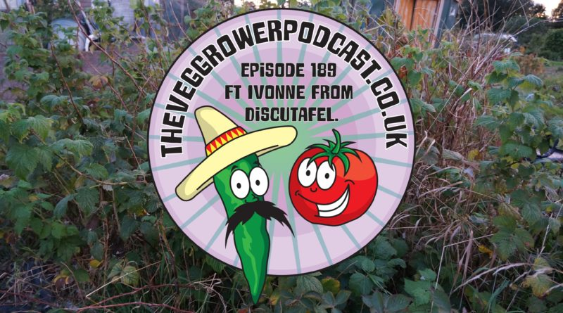 Join me in this weeks podcast (warning probably the longest podcast I have ever done) where I chat to fellow podcast Ivonne from Discutafel. I also share the latest on my plots.