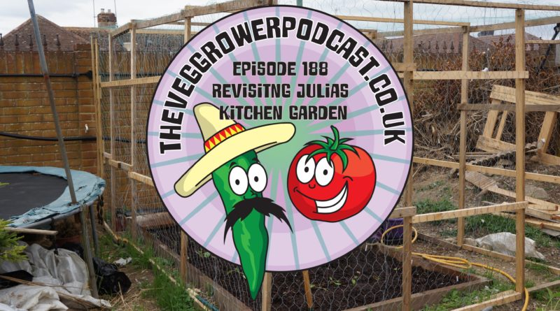 Join me in this weeks podcast which is dedicated to the memory of Paul peacock and we revisit Julia's kitchen garden.