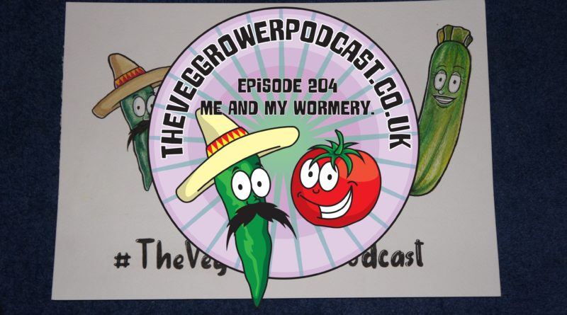 Join me in episode 2014 where I shall be discussing how I get on with my wormery as well as the latest on the plots.