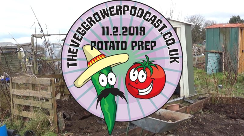 Join me in this weeks Video I am getting prepared to plant my potatoes
