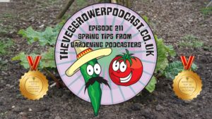 Join me in this weeks vegetable gardening podcast where I have gathered a collection of tips from various gardening podcasters. We also have the latest from my plots.