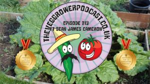 This week on the podcast I catch up with Sean James Cameron, to find a little about Sean's allotment, YouTube and upcoming podcast. I also share the latest on my plots.