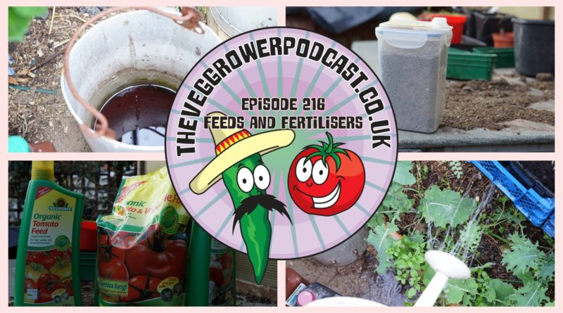 Join me in this weeks vegetable gardening podcast where Ill be discussing what feeds and fertilisers I use and why. I also share the latest on the plots.