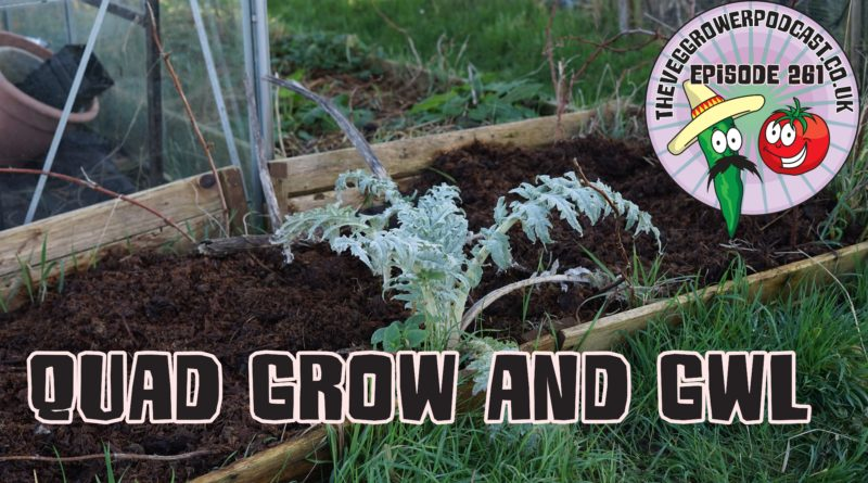 Join me in this weeks podcast where I find out what a quad grow is all about and also what I can expect to see at this years gardeners world live event.