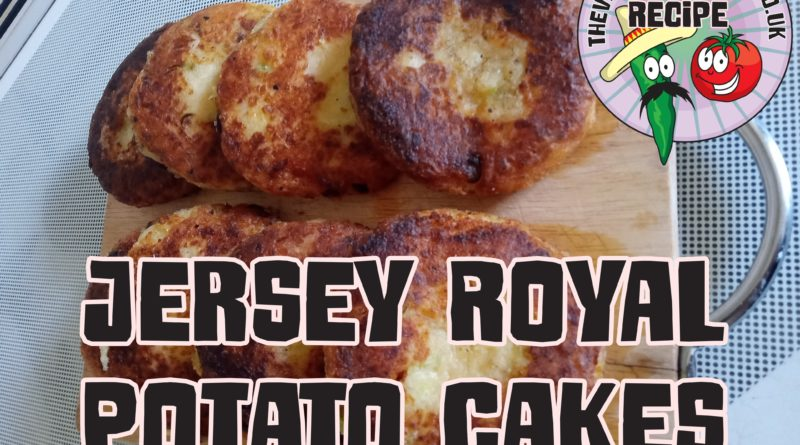 A member of the audience call Jen (check out her Youtube channel) has very kindly offered to help me out with a few recipes that she has written up and today she has shared this Jersey Royal Potato Cakes.